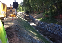 Stream realignment and restoration