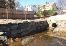 Stream rehabilitation and stabilization