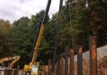 Drilled Piles at Germantown, MD
