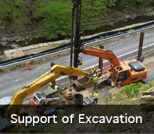 Support of Excavation services