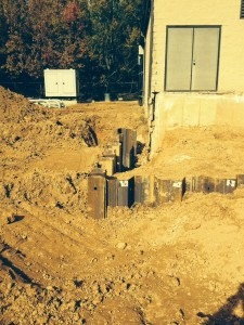 Driving Sheets for Support of Excavation at Maryland City