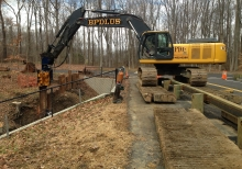 Slope stabilization and drainage