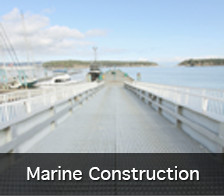 Marine Construction services
