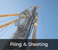 Piling and Sheeting services